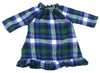 "Christmas Flannel Nightgowns for 18"" Dolls"