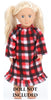 Red Plaid Holiday Family Matching Warm and Cozy Pajama Set