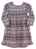 Girls Flannel Christmas Nightgown