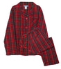 Men's Holiday Button-Down Flannel Pajamas