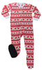 Kids Fleece Footed Holiday Pajama