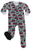 Holiday Infant Full-Zip Onesie Baby Pajamas PJs