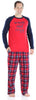 Holiday Family Matching Fleece Plaid Pajama for Men