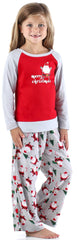 Holiday Toddler & Kids' Long Sleeve Pajamas Lounge Set