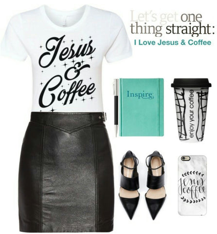 Christian Jesus and Coffee Tee