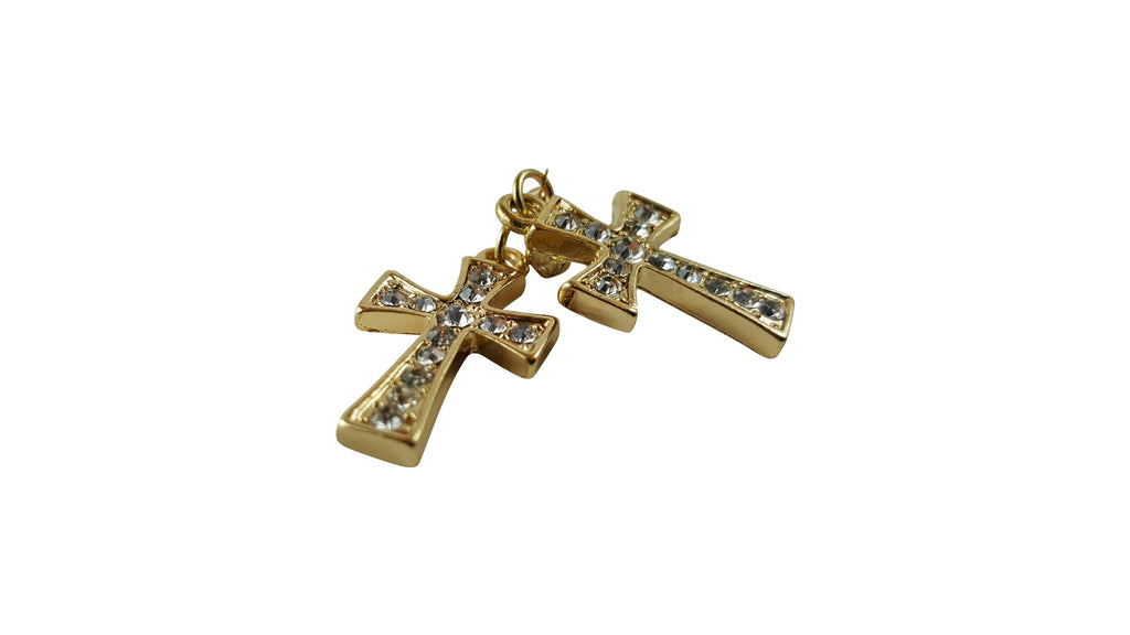 Cross Earrings, Earrings, Spiritual Mic, Spiritual Mic Fashionable christian apparel tees