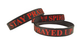 Stay Prayed Up, Bracelet, Spiritual Mic, Spiritual Mic Fashionable christian apparel tees
