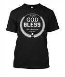 Who God Bless No Man Curse, T-Shirt, Spiritual Mic, Spiritual Mic Fashionable christian apparel tees