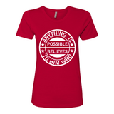Anything is Possible, T-Shirt, Spiritual Mic, Spiritual Mic Fashionable christian apparel tees