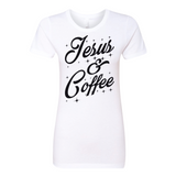 Jesus & Coffee, T-Shirt, Spiritual Mic, Spiritual Mic Fashionable christian apparel tees