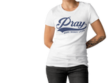 Pray More Worry Less, Tank Top, Spiritual Mic, Spiritual Mic Fashionable christian apparel tees