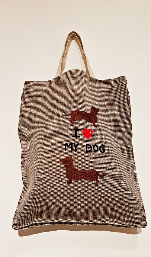 I LOVE MY DOG - Shopping bag