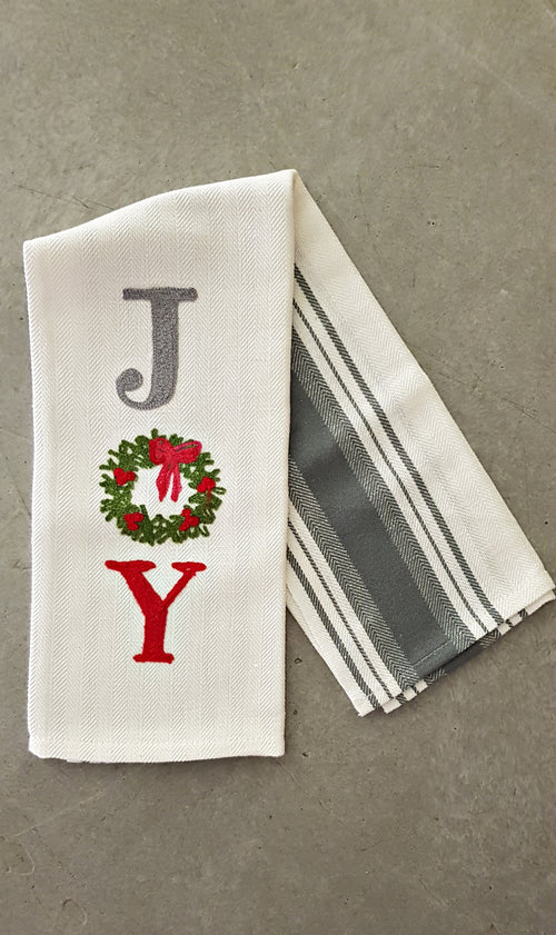 JOY - Christmas Kitchen Towel