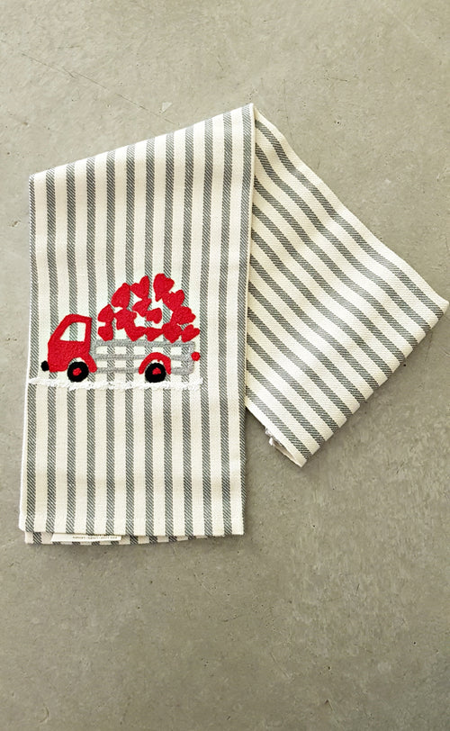 CHRISTMAS TRUCK - Kitchen Towel