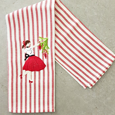 TREE ORNAMENTS - Christmas Kitchen Towel