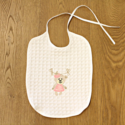 BIB WITH EMBROIDERY