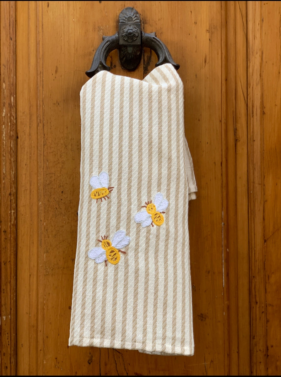 BEES - EMBROIDERED MIRTO KITCHEN TOWEL