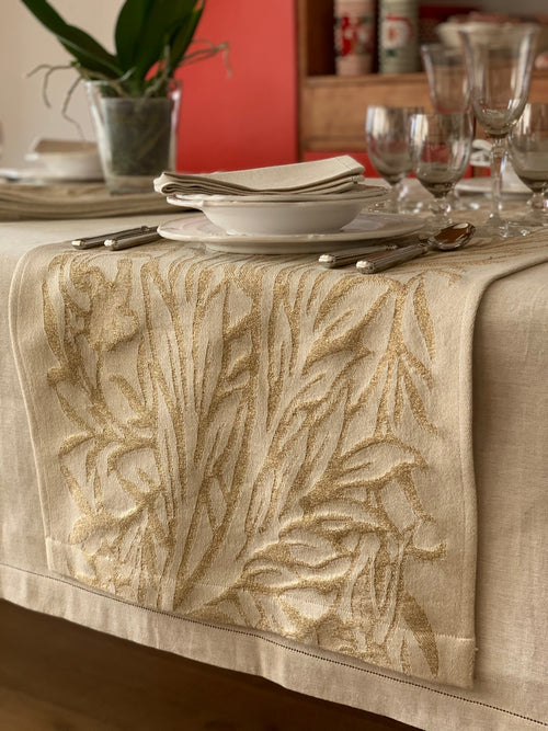 ORCHID LUREX - Long Placemat