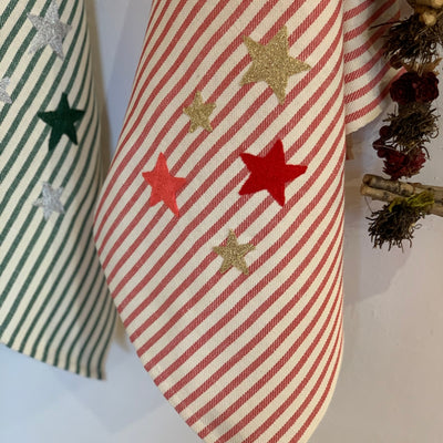 FIVE STARS - CHRISTMAS KITCHEN TOWEL