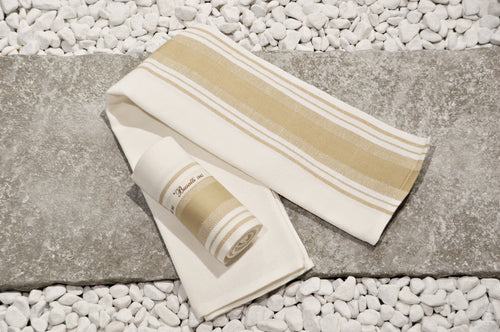 Due Fragole - Kitchen towel color sand