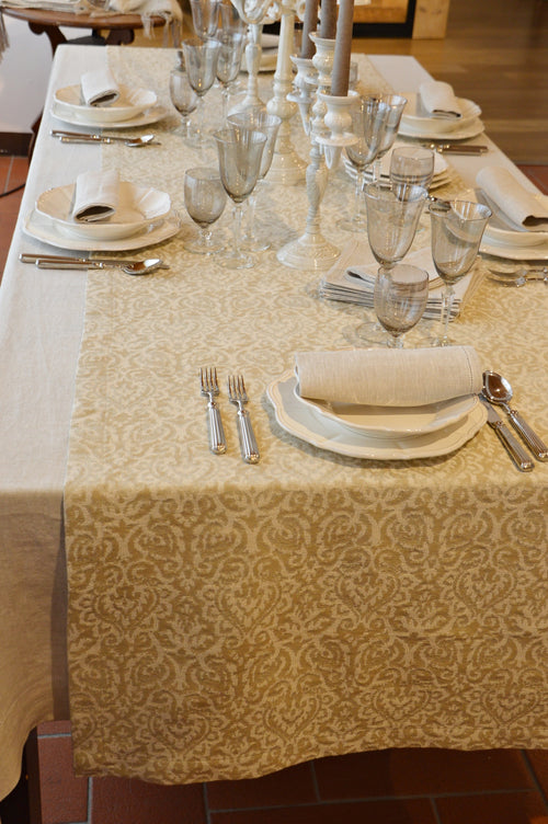 "Costantinopoli - Tablecloth ""68,9x""68,9 inches (175x175cm)"