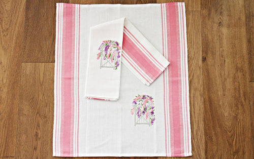 Secret garden - Kitchen towel