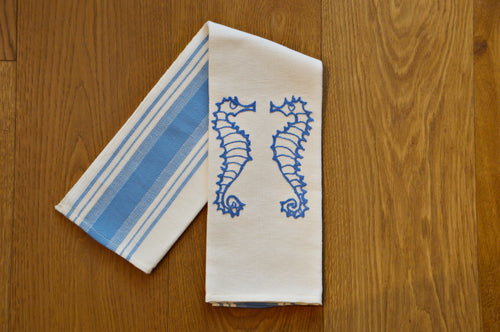 SEAHORSE - KITCHEN TOWEL DUE FRAGOLE