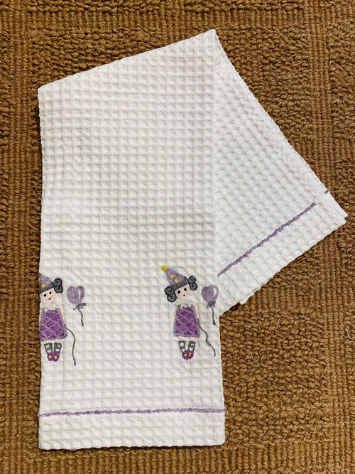 FAIRY - Embroidered Honeycomb towels