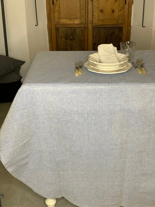 TABLECLOTH ZODIACO H320 WITH ROUND CORNERS 210x220cm