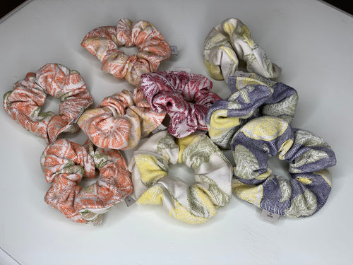 HAIR SCRUNCHIES - CITRUS FRUITS