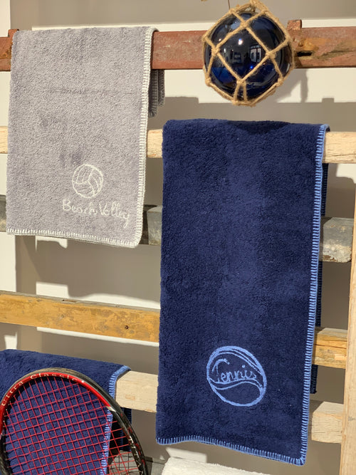 "EMBROIDERED TERRY TOWELS ""SPORT EDITION"""