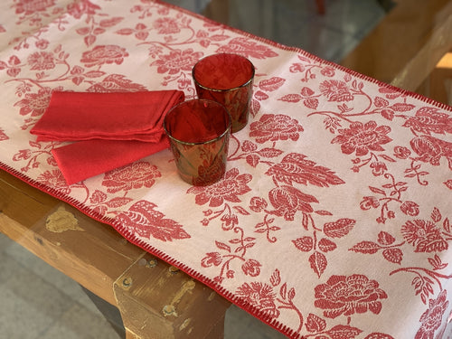 VENEZIA - LONG PLACEMAT WITH PUNTO SIENA LACE
