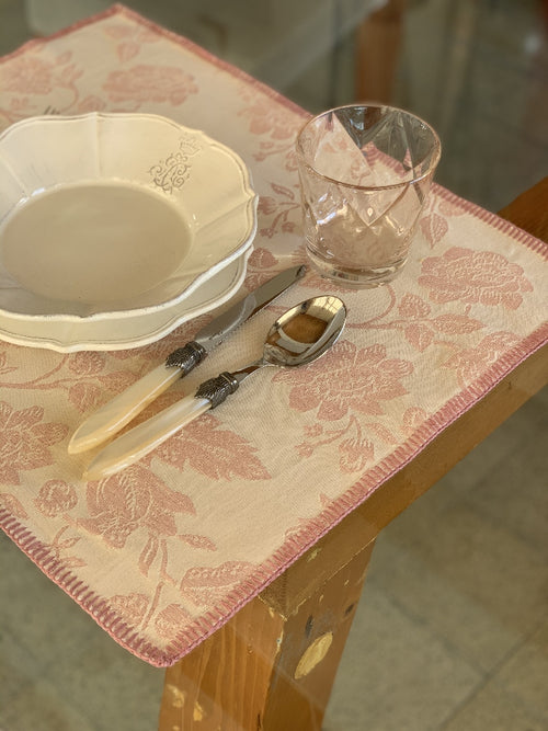 "VENEZIA - Placemat with ""Punto Siena"" lace"