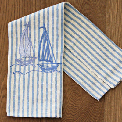 Big sail boats - Kitchen towel