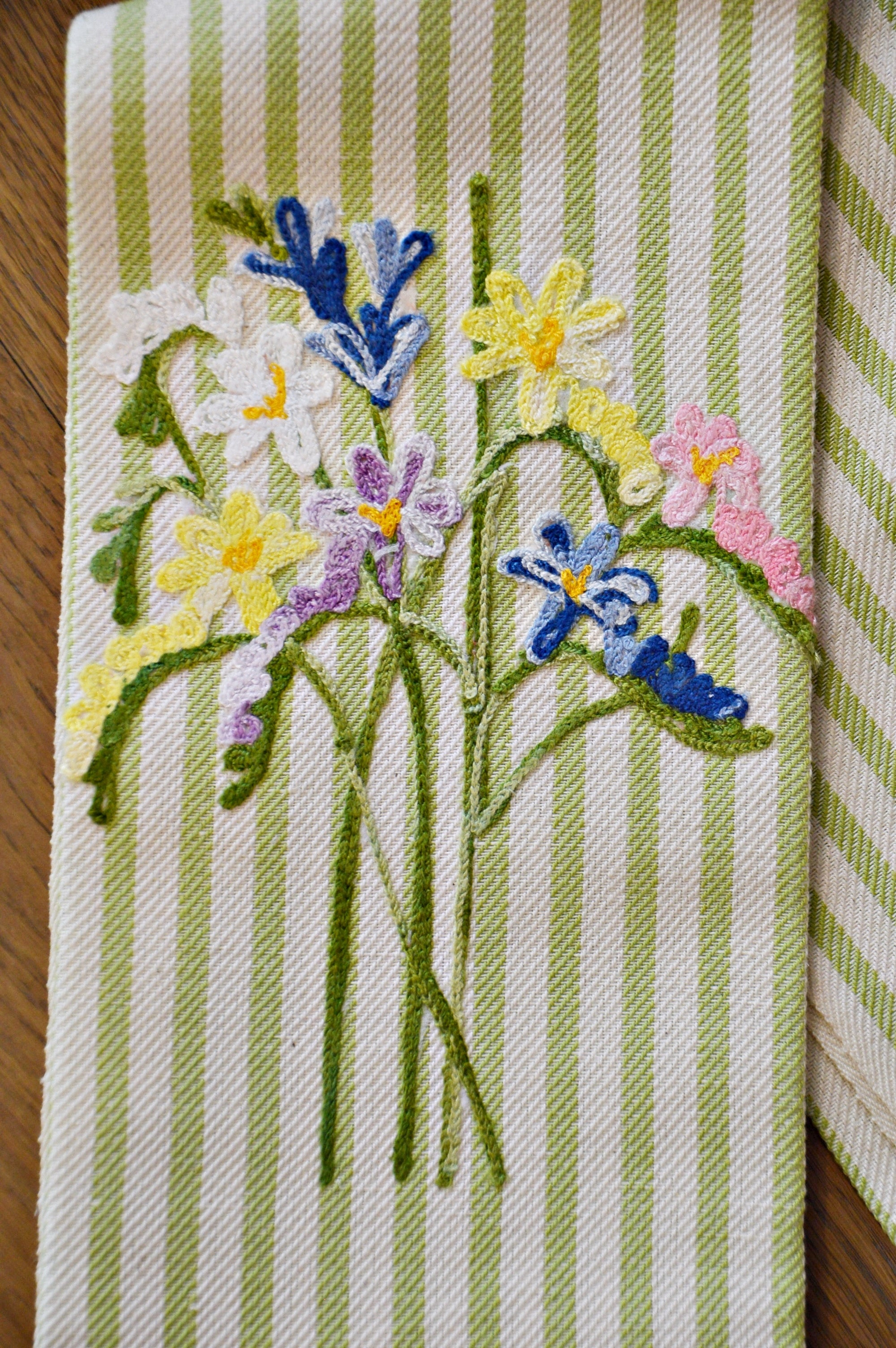 SPRING FLOWERS - KITCHEN TOWEL