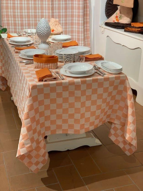 """TOVAGLIA A QUADRI"" - Tablecloth Damona"