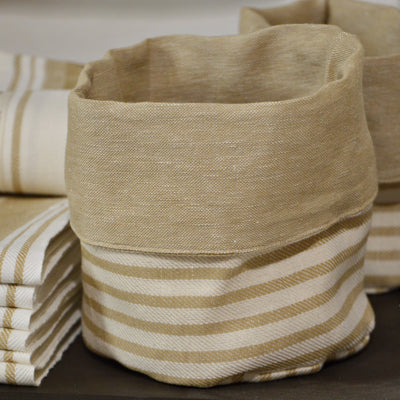 FABRIC BREAD BASKET