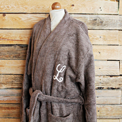 Custom Bathrobe - Mud