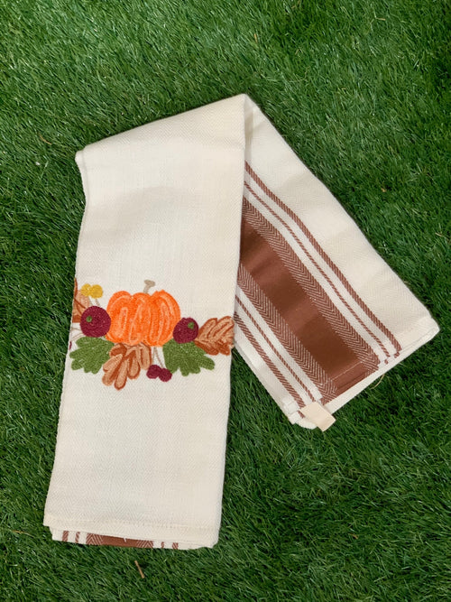 PUMPKIN - Kitchen Towel Due Fragole