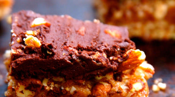 Crunchy Almond 4 Layer Bars