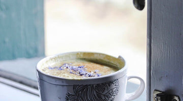 Maca Tahini Maple Turmeric Golden Latte