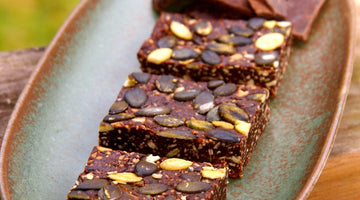Oregon Pumpkin Seed Brownies