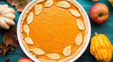Walnut Butter-Pumpkin Pie