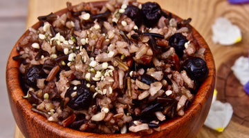 Oregon Blueberry-Wild Rice Pilaf