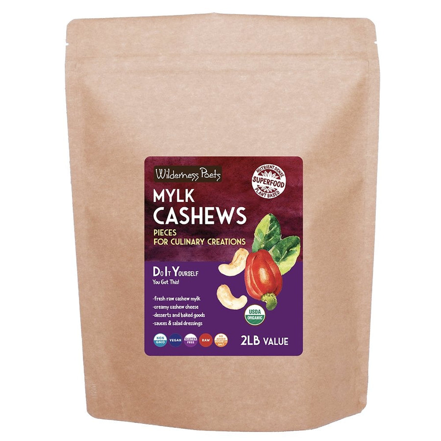Mylk Cashews - Pieces for Culinary Creations