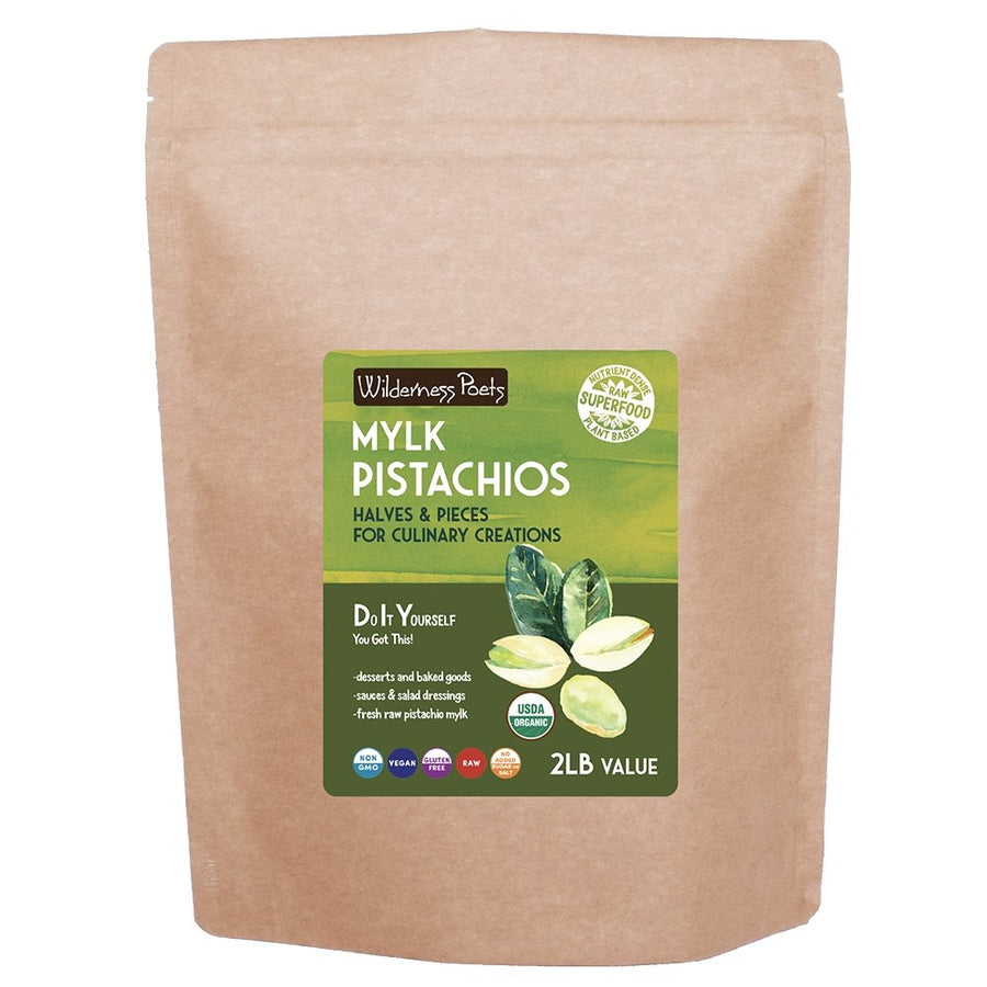 Mylk Pistachios - Halves & Pieces for Culinary Creations