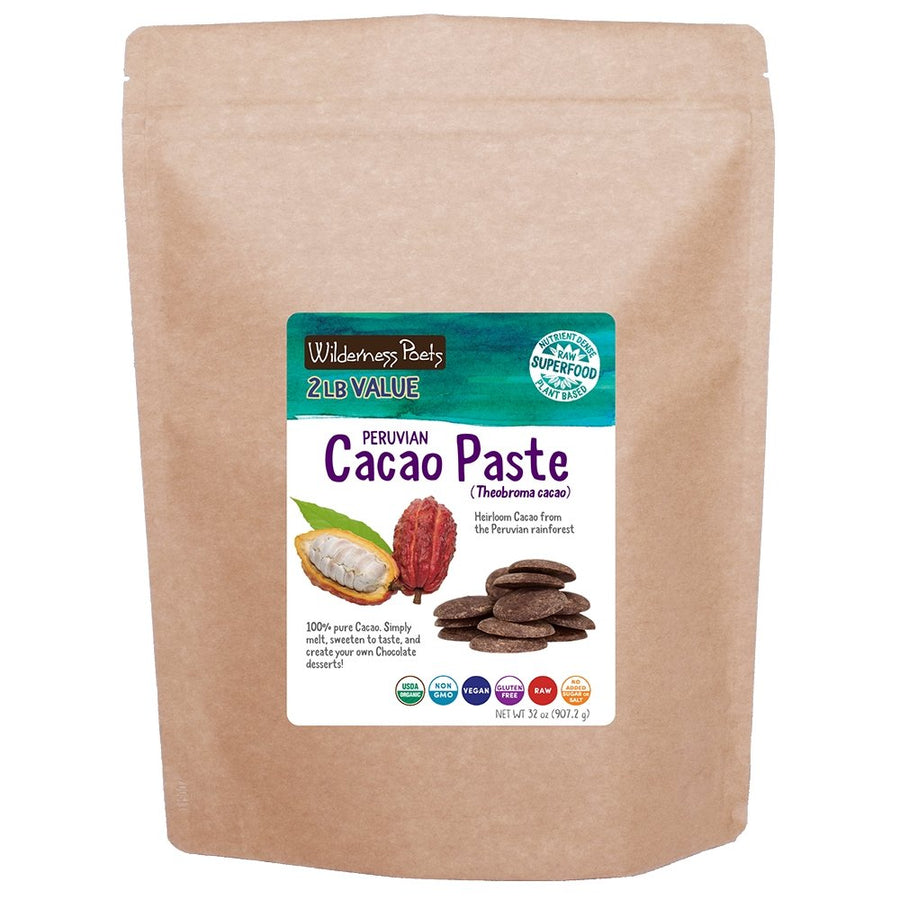 Peruvian Cacao Paste (Wafers)