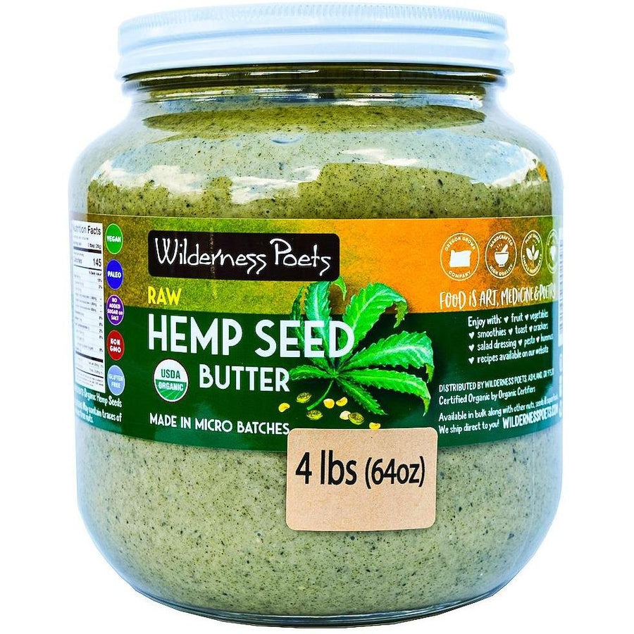 Hemp Seed Butter | Pure Hempspread