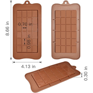 Silicon Break-Apart Chocolate Molds (4 pack)
