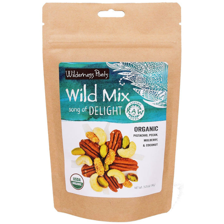 DELIGHT Wild Mix | Organic Raw Trail Mix
